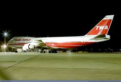 TWA 747 - Trans World Airlines