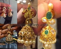 Jewellery Designs: Trendy yet Elegant Jhumkas