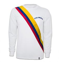 Colombia voetbalshirt 1973 retro voetbal truitje football soccer vintage sport COPA