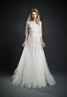 Ersa Atelier Wedding Dresses 2015 Fall - MODwedding