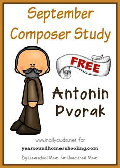 Learn more about Antonin Dvorak, the composer, with this FREE September Composer… Music Games, Music Activities, 6 Music, Compositor Musical, Music Lessons, Piano Lessons, Music Education, History Education, Teaching History