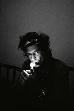 it's great to be here. it's great to be anywhere ― keith richards | new york, 1992 | foto: claude gassian