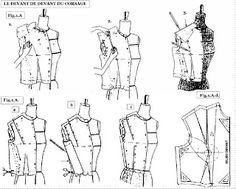 TECHNIQUE DE MOULAGE DU CORSAGE FEMME : Mode & Beauté