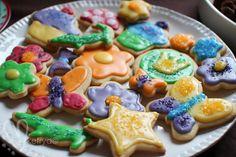 Fargesprakende sukker-kaker