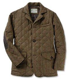 Quilted Tweed Jacket