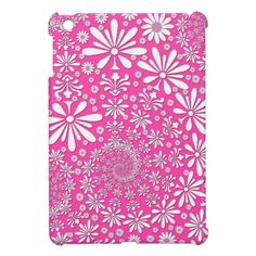 Girly Floral Art Pattern Pink and White iPad Mini Cases This site is will advise you where to buyShopping          Girly Floral Art Pattern Pink and White iPad Mini Cases Online Secure Check out Quick and Easy...