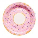 Donut Party Plates (set of 10)