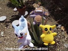 Haken allerlei Curacao, Dushi Amigurumi: Gratis Nederlands haakpatroon Pikachu