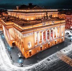 Alexandrinsky Theatre in Petersburg author photo: vitaliy. karpovich