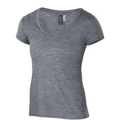 Ibex Women's OD Heather T (1.195 ARS) ❤ liked on Polyvore featuring tops, t-shirts, ibex, merino wool tops, merino wool t shirt, lightweight t shirts and merino t shirt