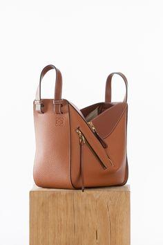 Tan Regular Hammock bag Loewe