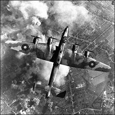 Handley Page Halifax, this is the WW2 bomber my father flew in the RAF.  This aircraft was converted after the war into the Halton, and carried passengers not bombs.