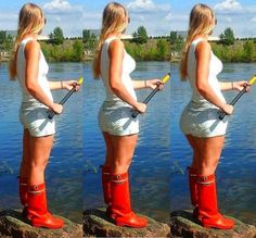 Wellies Rain Boots, Beauty, Ideas, Natural Rubber, Boots, Shoe, Rubber Work Boots, Thighs, Cosmetology
