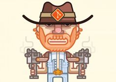 Illustrations by Fabricio Rosa Marques | Inspiration Grid | Design Inspiration