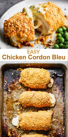 Fool-proof chicken cordon bleu that is absolutely delicious! Anyone can make this easy recipe, and I have a trick for wrapping them without needing toothpicks! Easy Chicken Cordon Bleu, Best Chicken Cordon Bleu Recipe, Tater Tots, Love Food, Food To Make, Easy Meals, Food And Drink, Cooking Recipes, Yummy Food