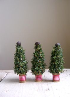 cute little christmas trees