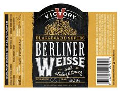 Pennsylvania'sVictory Brewing Companyjust announced the latest release in its Blackboard Series. The new brew is Berliner Weisse with Elderflower and it continues the series emphasis on artisanal…