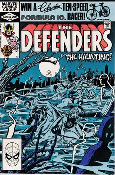 Defenders 103  January 1982 Issue  Marvel Comics  by ViewObscura
