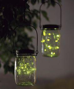 Solar Firefly Jar Outdoor Light