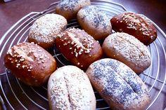 Sauerteigbrötchen ohne Hefe. Trudels glutenfreies Kochbuch, glutenfrei backen und kochen bei Zöliakie. Glutenfreie Rezepte, laktosefreie Rezepte, glutenfreies Brot