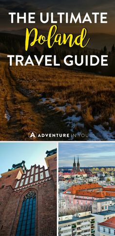 Poland Travel | Looking to travel to Poland? Here's our guide on the best things to do in Poland including what to eat, where to go, and the best things to see and do! #poland #europe