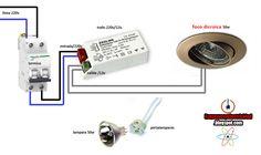 Esquemas eléctricos: conexion dicroica