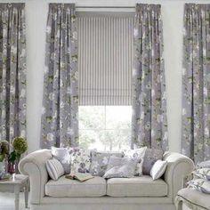 cortinas-para-living-flores.jpg (560×560)