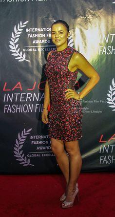 Maria Barwina La Jolla Fashion Film Festival UC San Diego #redcarpet #pr #fashion #LJFFF #4Chionstyle #style La Jolla, Film Fashion, Red Carpets, Film Festival, San Diego, Peplum Dress, Celebrities, Dresses, Red Rugs