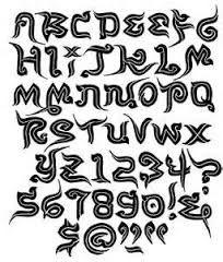 Resultado de imagen para tribal tattoo words