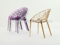 New style top sell dining clear acrylic folding chairs