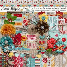 Life 101-February Love With Your Whole Heart by Meghan Mullens and Jadyday Studio