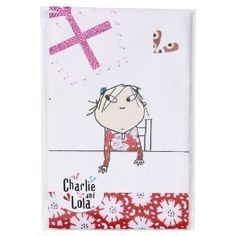 New Design Charlie and Lola Party Tablecover, paper by Party Bags 2 Go. $29.99