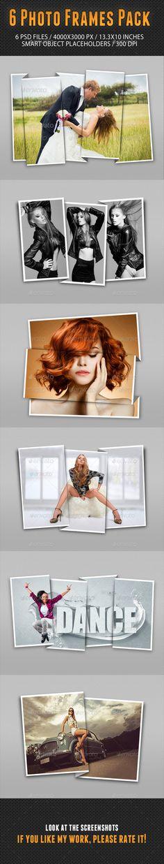 Photo Frames Pack Templates PSD #design Download: http://graphicriver.net/item/photo-frames-pack-13/10202786?ref=ksioks