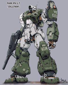 A fresh batch of pics to entertain your brain. Arte Robot, Robot Art, Transformers, Mecha Suit, Japanese Robot, Sci Fi Armor, Robot Concept Art, Gundam Art, Custom Gundam