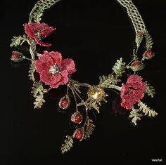 Veta's Art with Beads: Poppy 2 / Маки 2