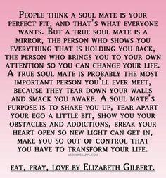 Soulmates quote love