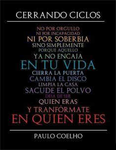 Frases bonitas de Paulo Coelho #citas #frases #quotes