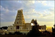 Hindu Temple & Cultural Center of Iowa at Sunset by keeva999, via Flickr