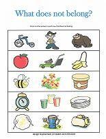What Doesn\'t Belong? | Preschool Crafts | Pinterest | Worksheets ...