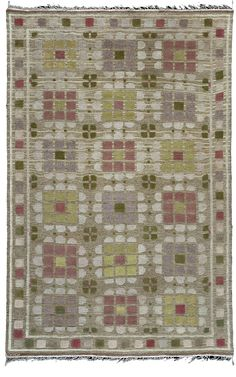 A Swedish Rug by Marta Maas-Fjetterstrom  Price: $28,000
