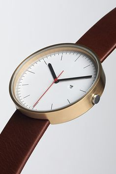 Uniform Wares - The ultimate minimal watch. It almost feels a little blank!