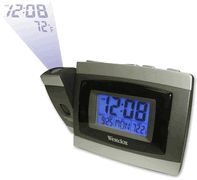 Westclox 70006 Tech Projection LCD Alarm Clock