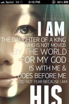 I'm a child of GOD!! <3