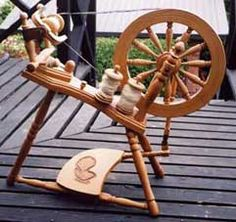 Since this Beauchamp wheel was made in New Zealand, where my husband is from, I pinned it!   -k