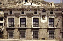Mula (Murcia) - Imagen del Palacio de Menahermosa, sede del Museo de Arte Ibérico El Cigarralejo.