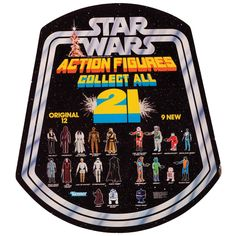 Back in 1977, I only bought 4 of the first 21 action figures (C3PO, R2-D2, R5-D4 and the Power Droid).  What about the others?  Well frankly, I thought the other action figures looked really stupid...