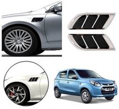 Skoda Fabia Car Air Flow Side Vent Exterior Duct Set of 2 ( Type ) Car Accessories List, Maruti Suzuki Alto, Car Body Cover, Suzuki Wagon R, Police Lights, Reverse Parking, Suzuki Swift, Skoda Fabia, Type 4