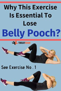 Belly pooch exercises is one of the best way to lose belly pooch for men and women. Do these 20 Belly pooch exercises. Rear Delt Exercises, Knee Exercises, Back Pain Exercises, Health And Fitness Tips, Health Tips, Fitness Diet, Easy Workouts, At Home Workouts, Belly Pooch Workout