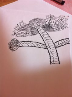 Zentangle #flower#