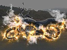 Yogi Manchekar Art #bajajavenger #bajajavenger220 #ghostrider #ghostriderbike #fatboybike #cruiserbike #photoshop #imagemanipulation